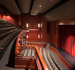 Lackland Center Balcony
